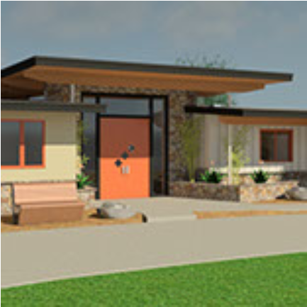 1201 Paradise home color