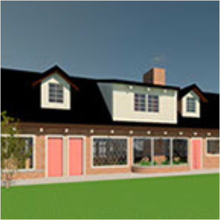 Bliss Family home color
